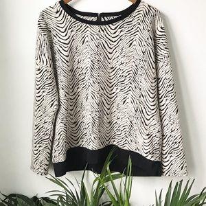 Liz Claiborne Zebra Sweater